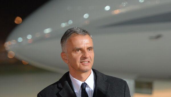 Действующий председатель ОБСЕ, министр иностранных дел Швейцарии Дидье Буркхальтер. Архивное фото