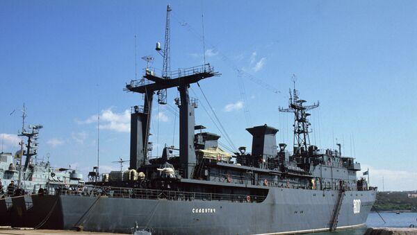 Корабль управления ВМС Украины Славутич