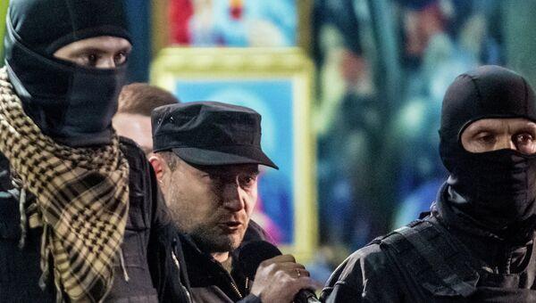 Один из лидеров Правого сектора Дмитрий Ярош. Архивное фото