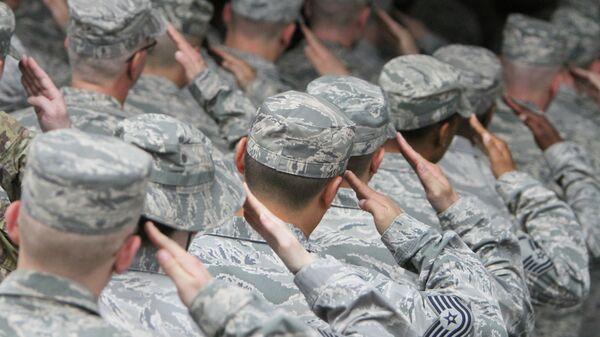 Военнослужащие ВВС США. Архивное фото.