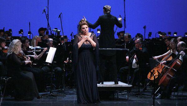 Концерт оперной певицы Марии Гулегиной в Москве