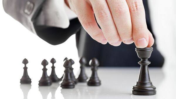 Стратегия в шахматах. Архивное фото