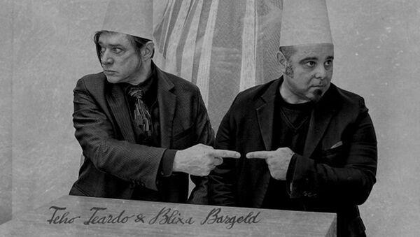 Бликса Баргельд и Тео Теардо