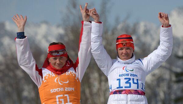 Паралимпиада 2014. Лыжные гонки. Женщины. 15 км