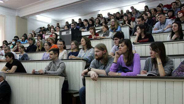 Студенты-медики. Архивное фото