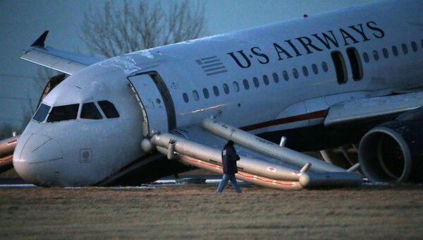 Авария самолета US Airways в Филадельфии