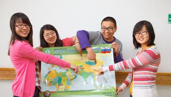 Студенты ТПУ из Китая