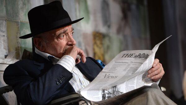 Актер Валентин Гафт. Архивное фото