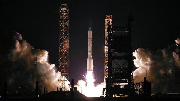 Пуск ракеты-носителя Протон-М. Архивное фото