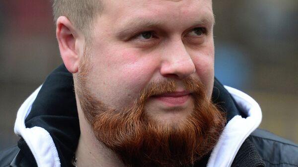 Бывший руководитель Славянского союза Дмитрий Демушкин. Архивное фото