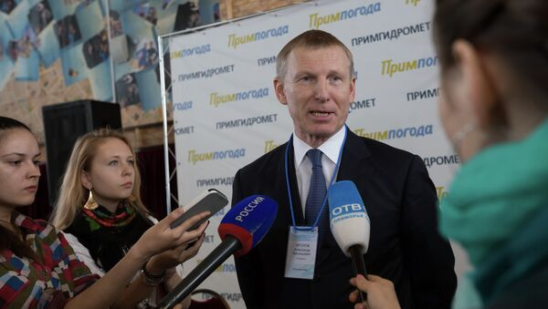 Руководитель Росгидромета Александр Фролов. Архивное фото