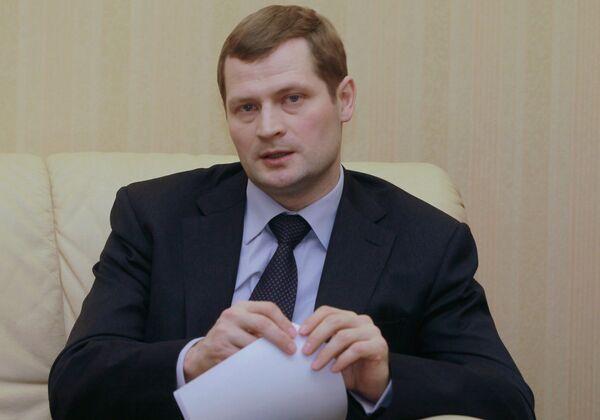 Константин Тимофеев на заседании Делового клуба на Тверской