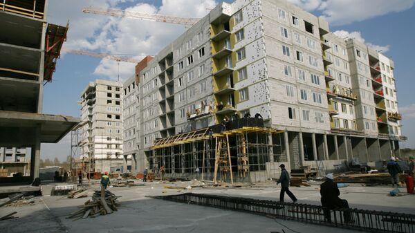 Строительство микрорайона Академический в Екатеринбурге, стройка,  жилье, многоэтажки, новостройка