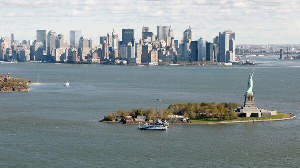 Вид Нью-Йорка