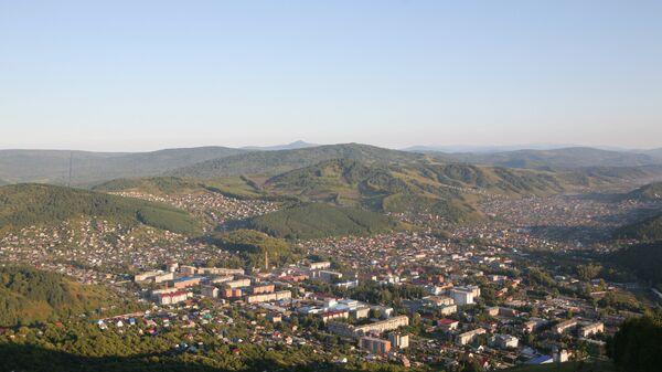 Вид на Горно-Алтайск