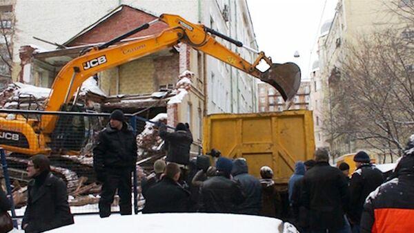 Ситуация в Козихинском переулке