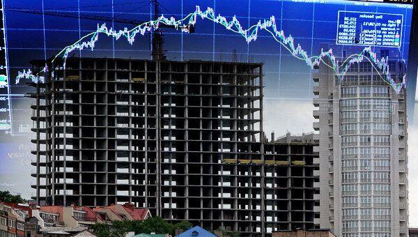 новостройка, строительство, многоэтажка, график, снижение, повышение