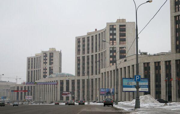 Здание Внешэкономбанка
