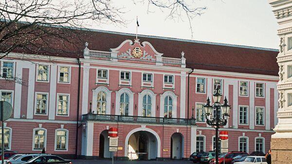 Здание Парламента в Таллине