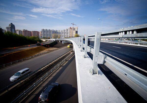 Открыта новая автомобильная развязка в Красногорске