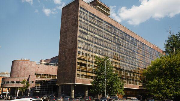 Здание Центросоюза (Наркомлегпрома) – Мясницкая улица, 39