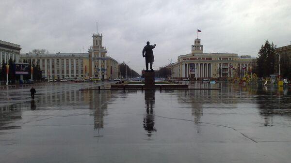 Вид города Кемерово