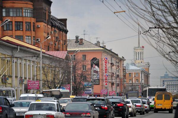 Пробки в Омске
