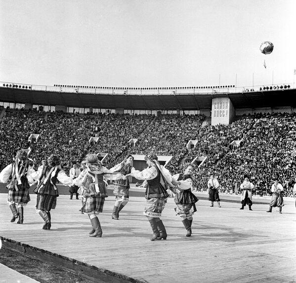 Спортивный праздник 9 мая 1965 года