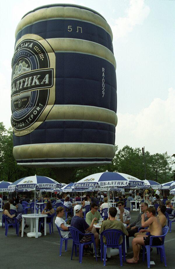 На Московском фестивале пива