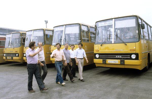 Водители автобусного парка