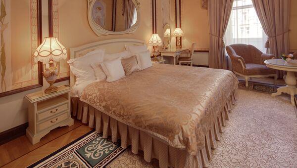 Президентский люкс в гостинице Метрополь