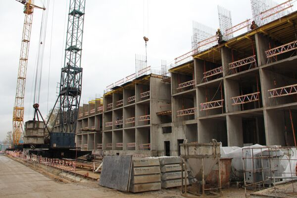 строительство жилого комплекса Николин Парк в Москве