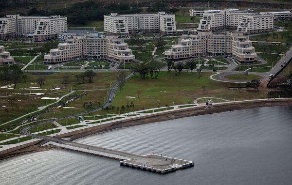 Корпуса Дальневосточного федерального университета на острове Русский во Владивостоке