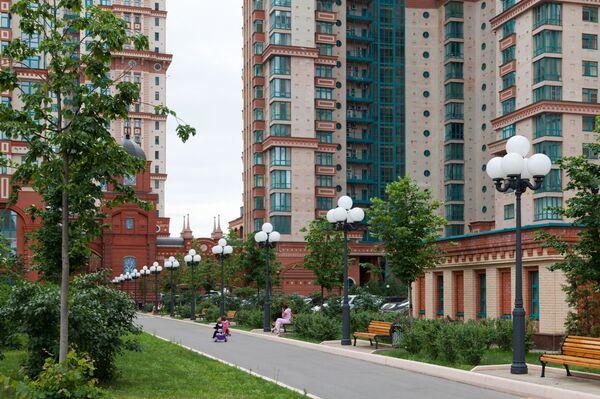 Жилой комплекс Алые паруса компании Дон-строй Инвест в Москве