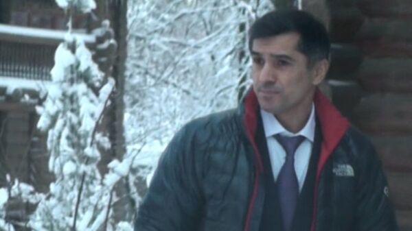 Задержание главы ВАК Минобрнауки Феликса Шамхалова. Съемка оперативников