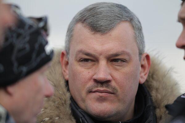 Глава Олимпстроя Сергей Гапликов