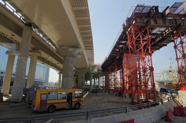 Объекты дорожного строительства Москвы