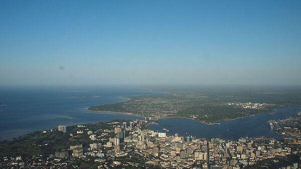 Город Дар-эс-Салам в Танзании