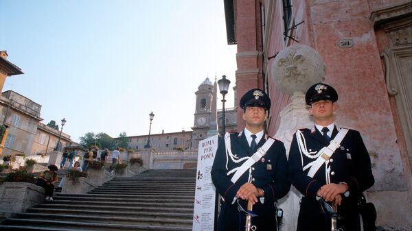 Карабинеры в Риме