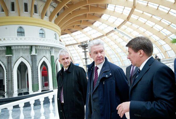 Посещение мэром Москвы Сергеем Собяниным Восточного административного округа столицы
