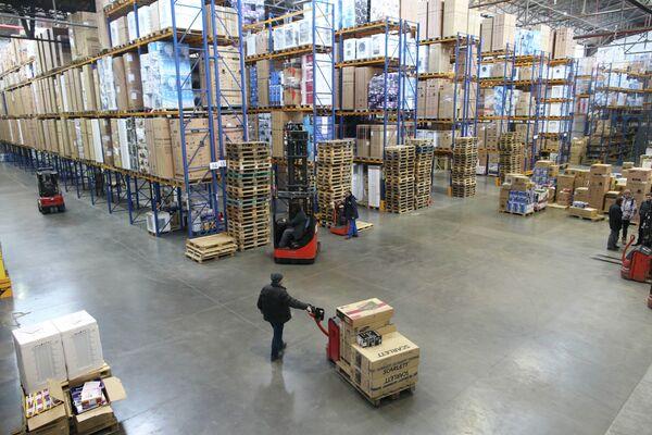Работа оптовой базы группы компаний Вестер в Калининграде
