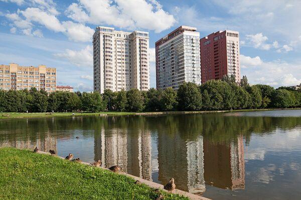 Дома в Москве, построенные на землях РАН