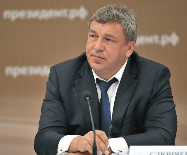 Министр регионального развития РФ Игорь Слюняев