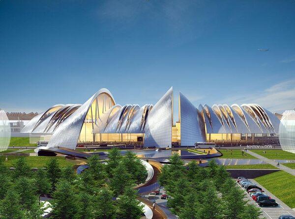 Концепция аэропортового комплекса Южный в Ростовской области