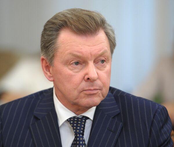 Полпред президента в Крымском федеральном округе Олег Белавенцев