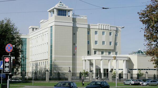 В посольство России в Минске