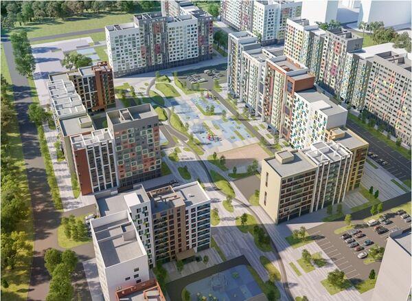 Проект типового жилья компании Мортон