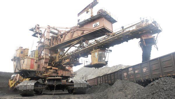 ОАО «Сибирская угольная энергетическая компания» добывает уголь в Иркутской области