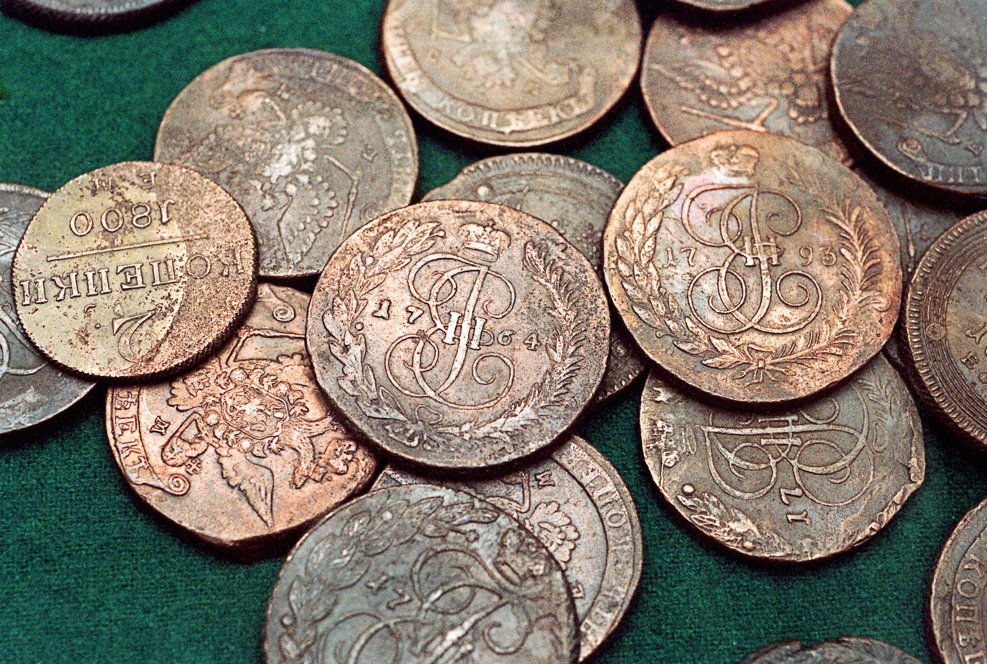 Старинные монеты - РИА Новости, 1920, 10.10.2021
