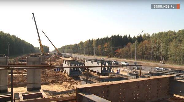 Как ведется масштабная реконструкция Калужского шоссе